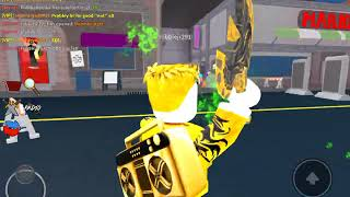 Trying to be the best player in Vea's assassin! (ROBLOX)