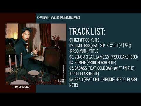 [MINI ALBUM] RAVI – RAVI 3RD EP [LIMITLESS] PART.1