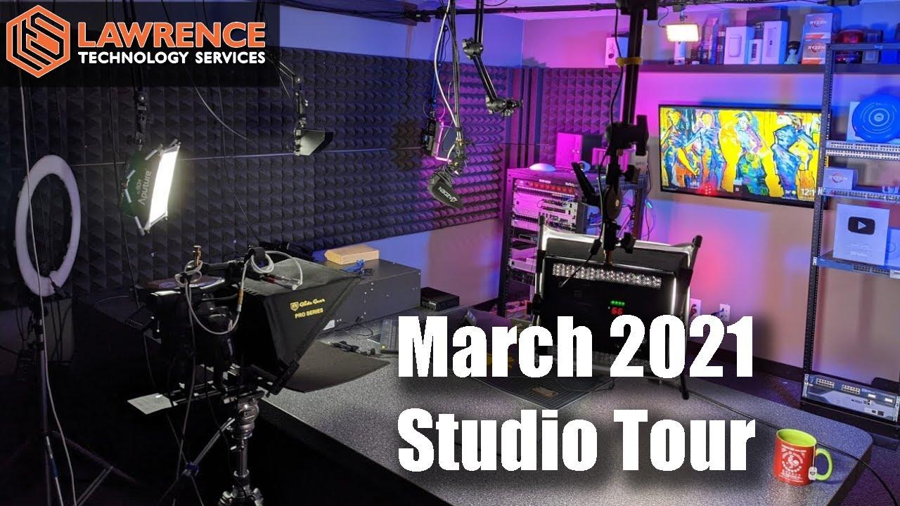 YouTube / Content Creator Studio Tour & Gear List March 2021
