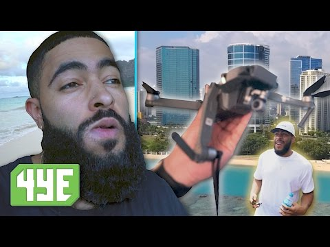 $1,500 DRONE fell from our Balcony in Hawaii...