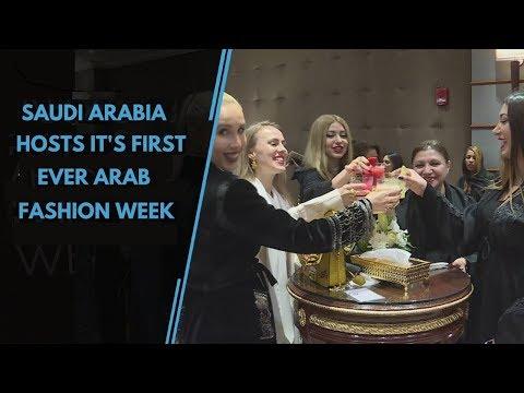Saudi Arabia Hosts Its First Women Only Arab Fashion Week
