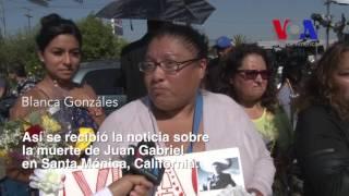 Así se vivió la noticia de la muerte de Juan Gabriel en California