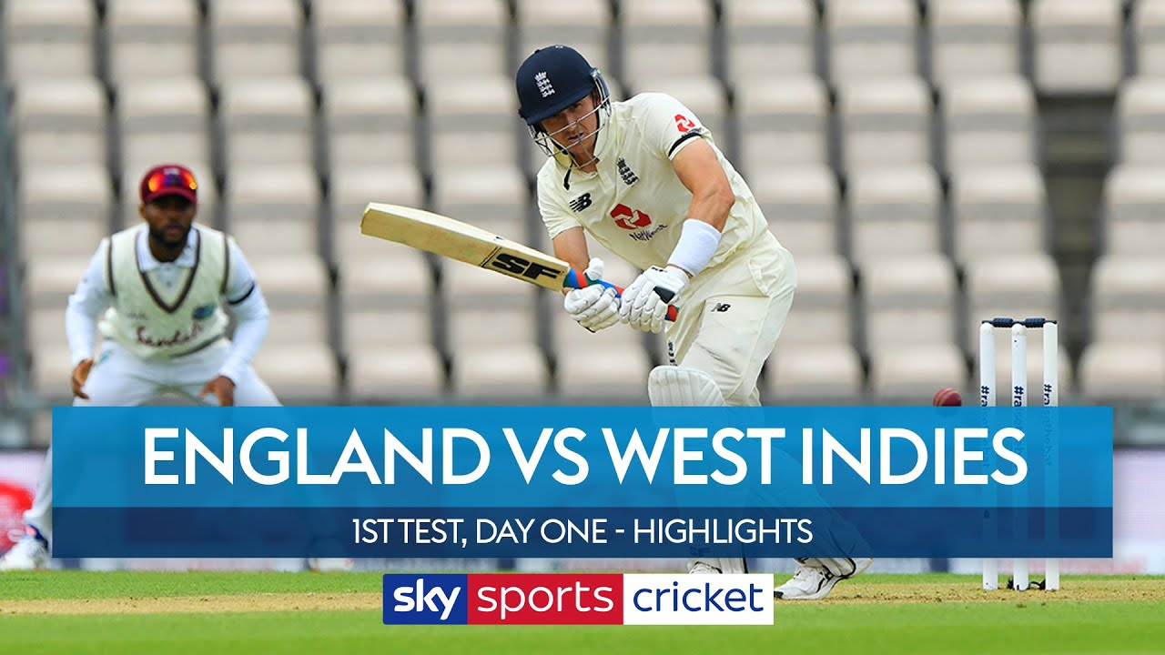 England reach 35-1 as rain scuppers return of cricket! | England vs West Indies | 1st Test, Day One