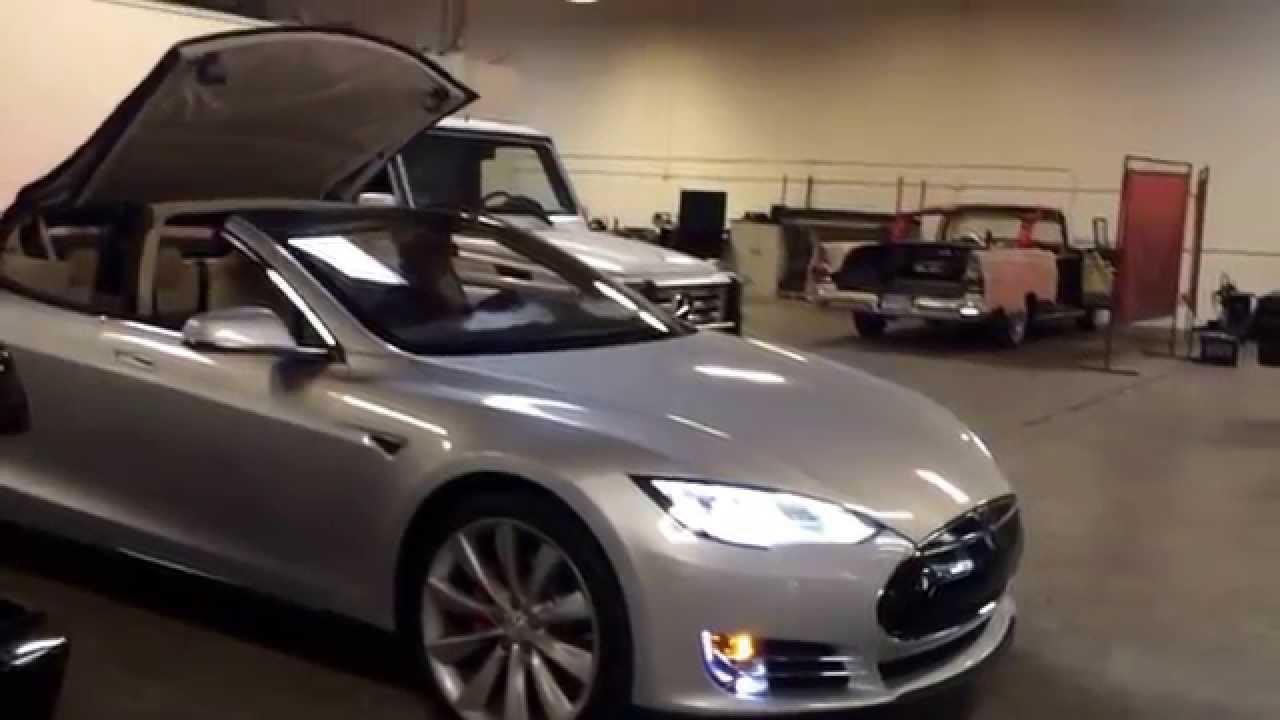 Tesla Convertible, Mercedes G55 Wagon Convertible, Range ...