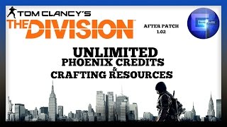 The Division - Unlimited Phoenix Credits And Crafting Resources Exploit After Patch 1.02