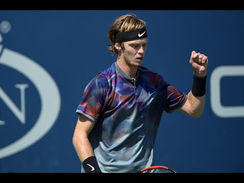 2017 US Open: Andrey Rublev R4 Press Conference