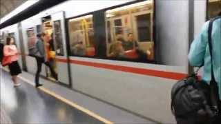 Австрия #36: Венское метро в выходной день