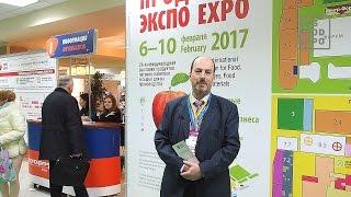 Михаил Кисин на выставке ''ПродЭкспо 2017'', Москва, 6-10 февраля