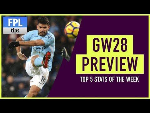 GAMEWEEK 28: FPL Stats Show   Fantasy Premier League 2017/18
