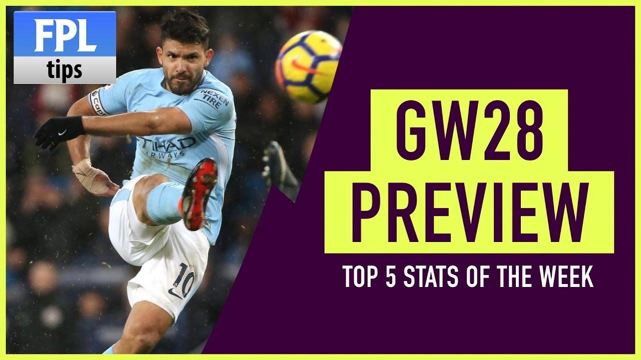Gameweek 28 Fpl Stats Show Fantasy Premier League 2017 18 Youtube