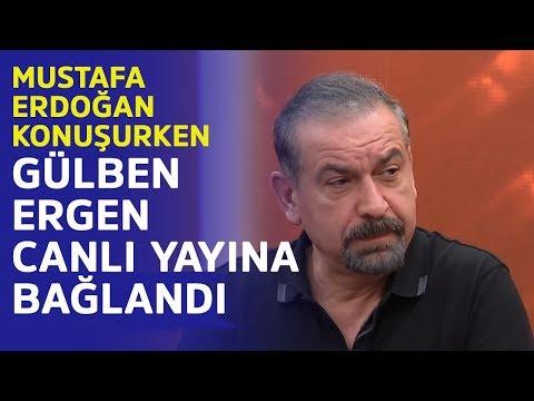 Gülben Ergen canlı yayına bağlandı... İşte Mustafa Erdoğan ile Gülben Ergen'in ilginç diyaloğu