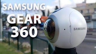 Samsung Gear 360 : Распаковка и Обзор