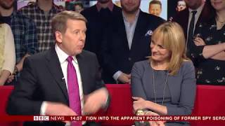 Bill Turnbull has prostate cancer (BBC News package)
