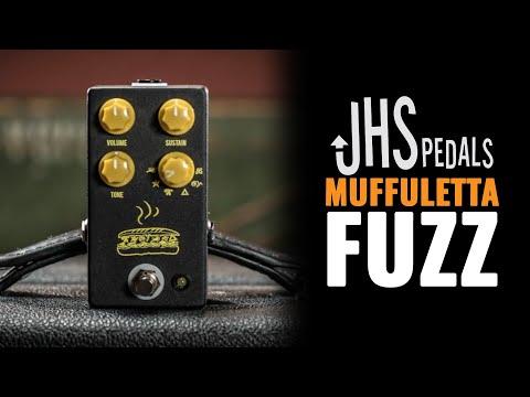 JHS Pedals Muffuletta Fuzz Pedal Demo | First Look