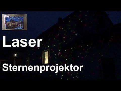 Laser Sternenprojektor Für Die Hausfasade Oder Garten Laser Garden Light Coole Weihnachtsdeko