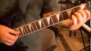 How to play Battles by Axe on guitar by Mike Gross(CVT Lesson Part 1)