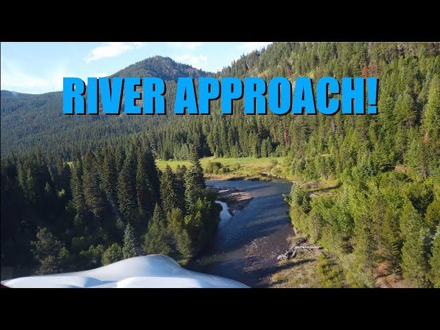 Landing beautiful Reds Horse Ranch strip / Minam River Lodge - 4K