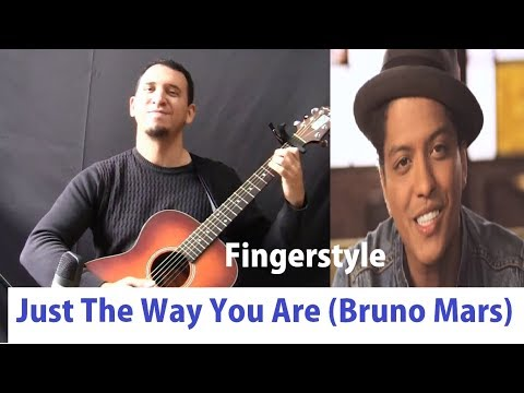 Bruno Mars - Just The Way You Are - Fingerstyle Acoustic Guitar Violão Solo