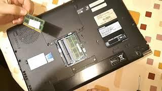 Toshiba Tecra R940 установка дополнительной  памяти /Toshiba Tecra R940 memory expansion