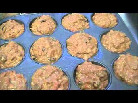 Low Cholesterol Cooking:  Morning Glory Muffins (lower calorie)