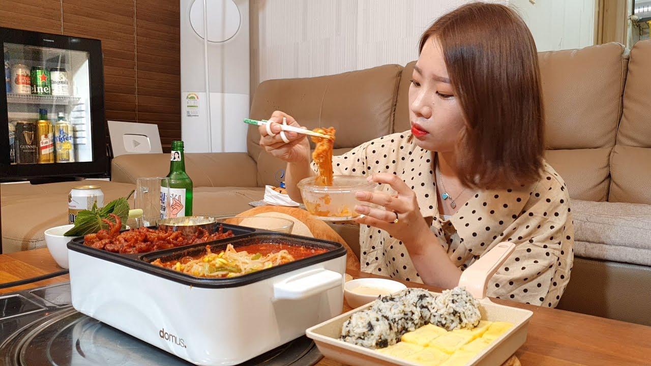 이거 먹으면 예뻐진다면서요..?! 👸(ft.쏘맥) 혼술먹방 ASMR MUKBANG EATINGSHOW