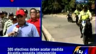 Alcaldía respalda intervención a la Policía de Cristóbal Rojas