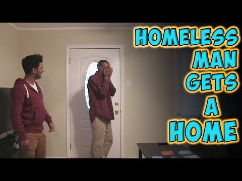 Thumbnail: Homeless Man Gets A Home