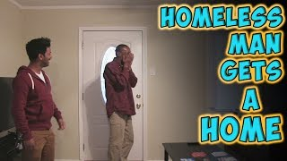 Repeat youtube video Homeless Man Gets A Home