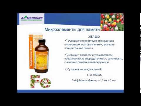 Минеральные вещества (биоэлементы) в питании, их