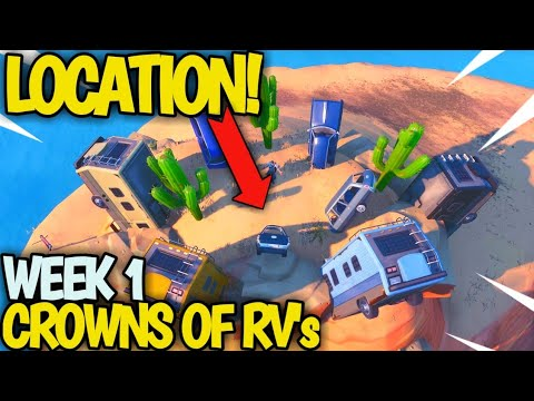 Dance On Top Of A Crown Of Rv S Fortnite Crown Of Rvs Location