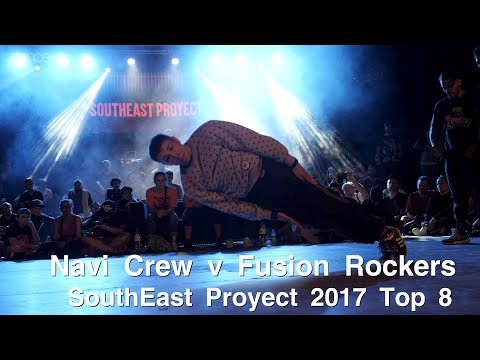 Fusion Rockers v Navi & Zames Crew ► .stance ◄ Top 8 - Southeast Proyect 2017