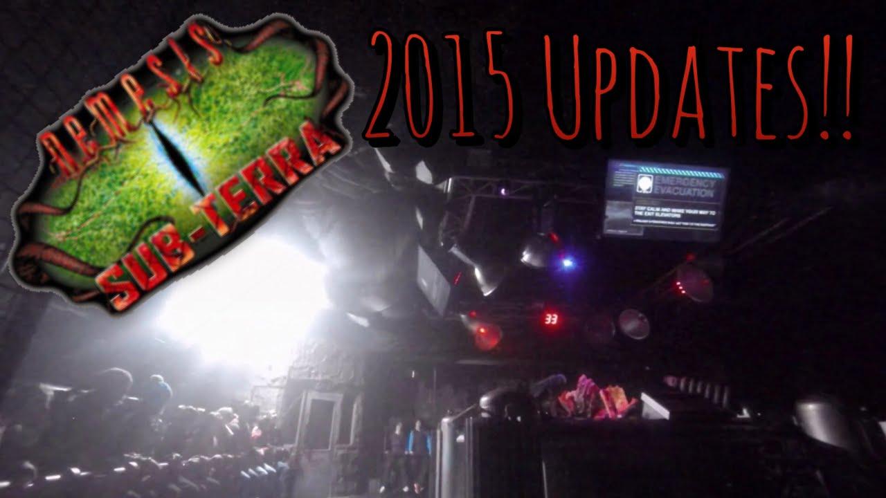 Nemesis Sub Terra 2015 Updates On Ride Pov Alton Towers
