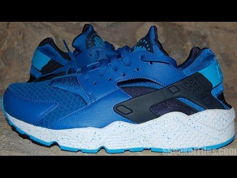 the best attitude 0db49 53943 Nike Air Huarache Military Blue Obsidian - YouTube