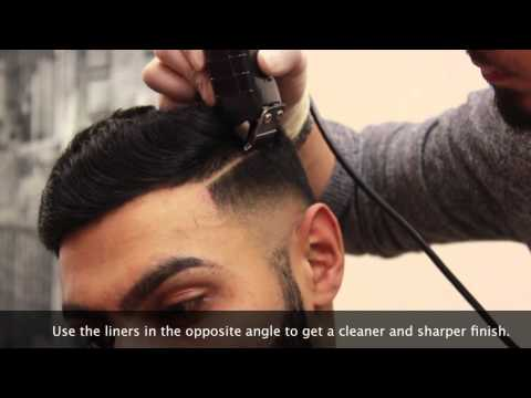 HD BARBER TUTORIAL EP.1 - Bald fade | combover | parting - BARBERVINNY UK