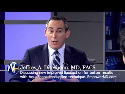 AquaShape Liposuction with Charlotte, NC Board Certified Plastic Surgeon Jeffrey Ditesheim, MD