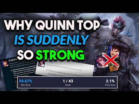 Why Quinn Top Has The Highest Win Rate And Is The Most Underrated Champ For 9.20   Quinn Top Guide