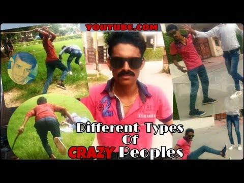 Different Types of CRAZY Peoples || very funny video😀|| shubhansh productions || Actor Paul