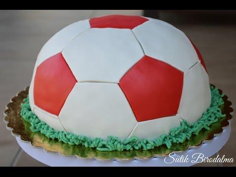 focilabda torta képek Focilabda torta elkészítése recepttel   Sütik Birodalma   YouTube focilabda torta képek