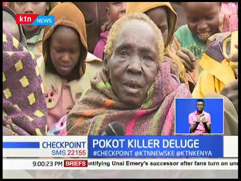More than 1200 people displaced and 40 dead, following floods and mudslides in Pokot