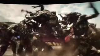 Avenger infinity war Thor's entrance