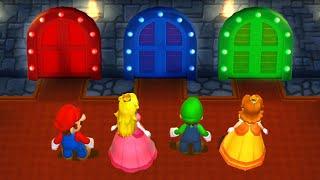 Mario Party 9 - Minigames! - Mario vs Peach vs Luigi vs Daisy (Very Hard)