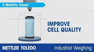El pesaje de alta precisión de METTLER TOLEDO calidad 100% asegurada en movilidad electrónica - es