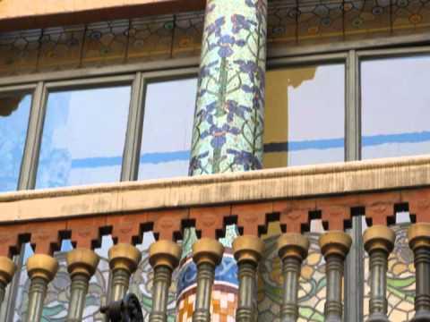 Barcelona - Palau de la Música Catalana (Catalan Palace of Music)