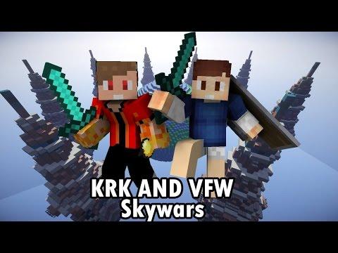 VFW - Minecraft ตะลุยมินิเกม KRK VS VFW Skywars 1.9.4