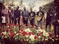Ayeiya's Wife and Daughter Lay Flowers For the Great Comedian in an Emotional Send Off.