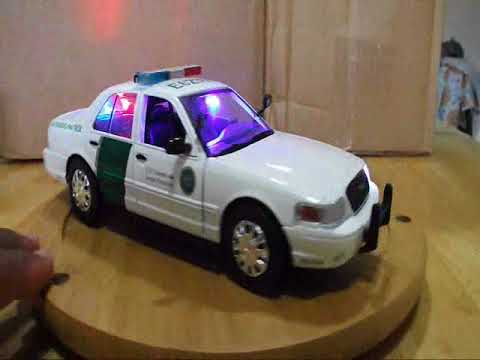 Border patrol car