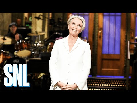 Cledus T. Party with Judy & Cledus - Emma Thompson's SNL Monologue