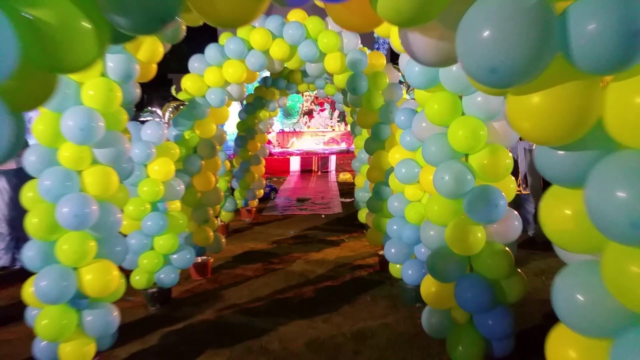Moana Theme Birthday In Karachi 03152981966 YouTube