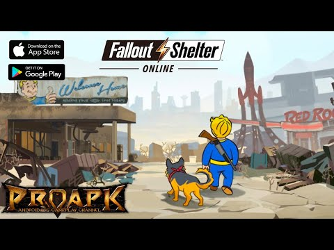 Fallout Shelter Online Gameplay Android / IOS