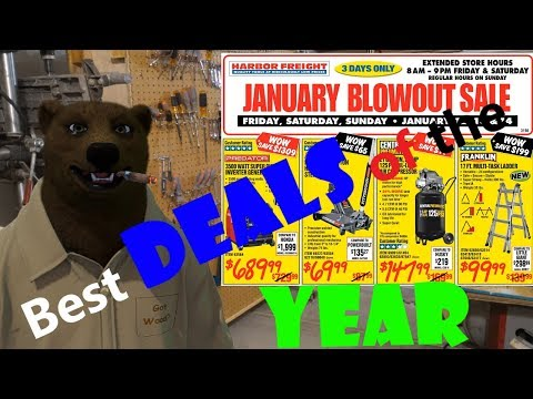 Harbor Freight Sale: This might be the best sale of the year (2018)